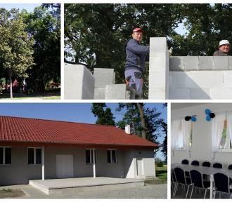 Sala wiejska w Nowym Dworze już gotowa