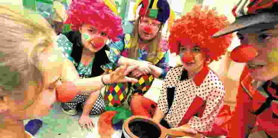 """Fundacja """"Dr Clown"""" działa w całej   Polsce. Na zdjęciu szpital w Toruniu"""