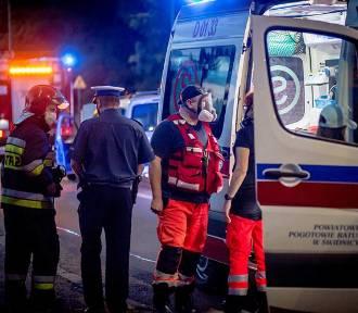 Wałbrzych: Wypadek na Wrocławskiej. Strażacy jechali na sygnale na akcję ratowniczą. Zderzyli