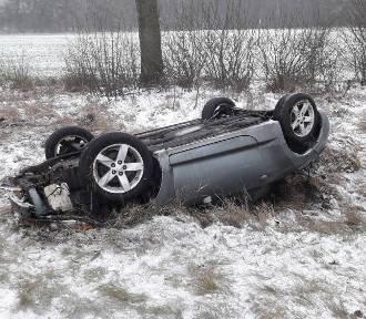 Oleśnica. Wypadek na drodze Bierutów-Oleśnica