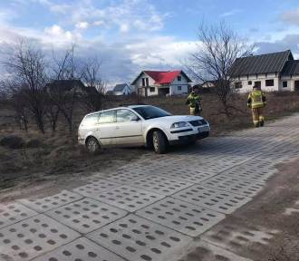 Porzucone auto w Połczynie