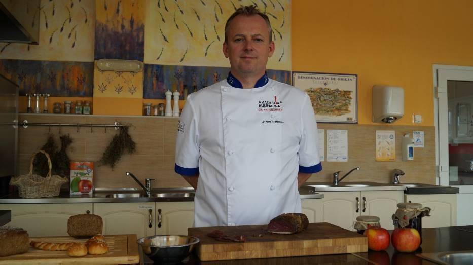 Józef Sadkiewicz z Akademii Kulinarnej w Bydgoszczy