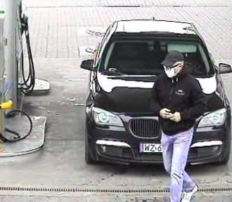 Skradziono paliwo za prawie 500 zł. Policja ustala tożsamość mężczyzny ze zdjęcia