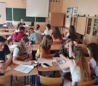 Uczniowie ZSP nr 4 w Łowiczu nie mają wakacji [ZDJĘCIA]