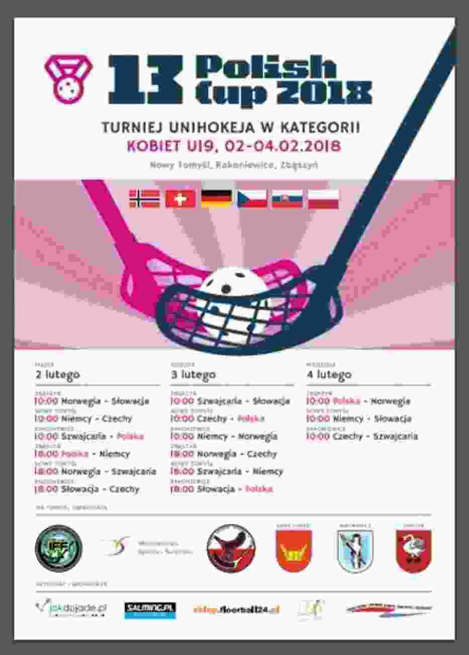 W Zbąszyniu po raz kolejny odbędą się zawody unihokeja - zapowiedź 13.Polish Cup