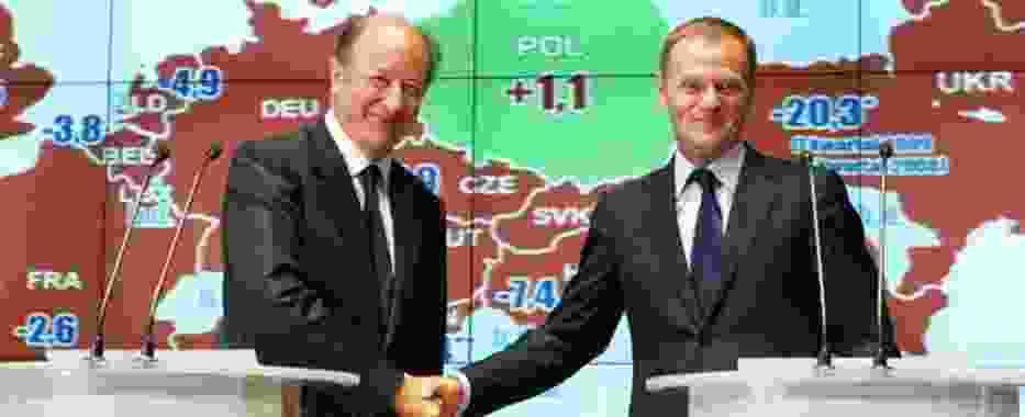 Donald Tusk cieszył się ze świetnego wyniku Polski