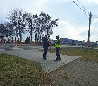 Funkcjonariusze zwracali uwagę na relację kierujący-pieszy