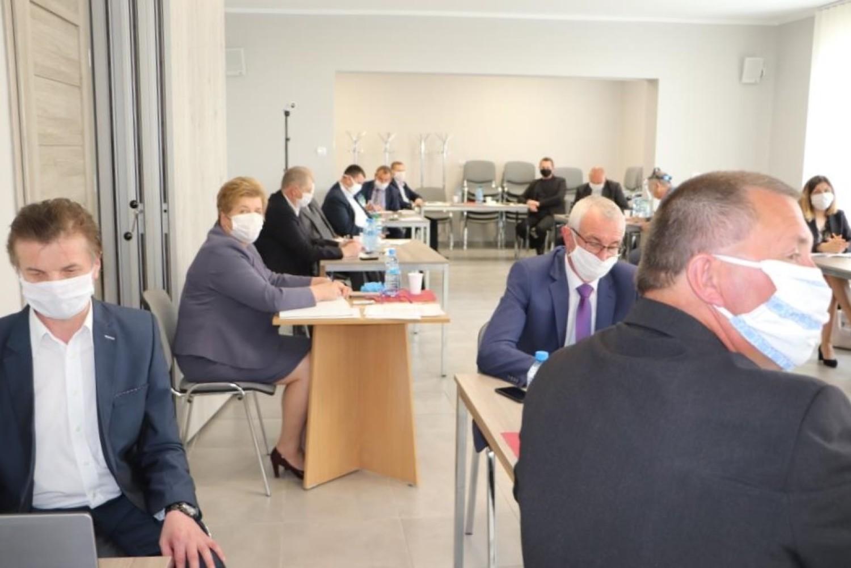 Radni w gminie Blizanów obradowali
