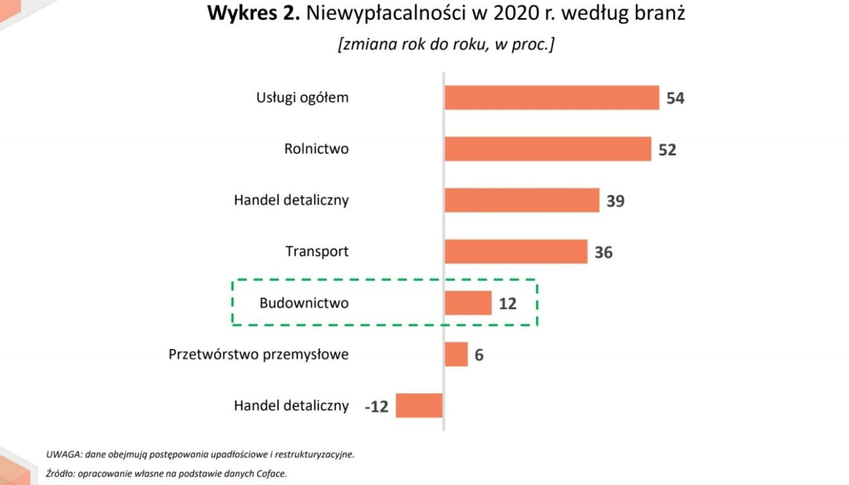 Niewypłacalność w 2020 r