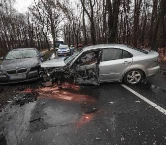 Kierowca zasnął za kierownicą i spowodował wypadek