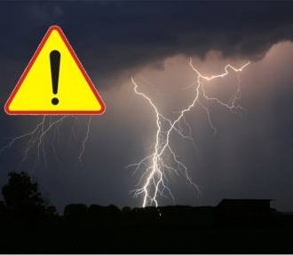 Uwaga! Intensywne opady deszczu. Nadciągają burze z gradem