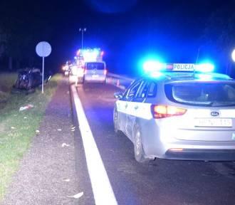 Wypadek w Bożympolu Wielkim. Policjanci wyjaśniają okoliczności zdarzenia [ZDJĘCIA]