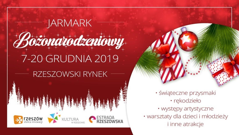 Na rzeszowskim Rynku świąteczny jarmark zacznie się w najbliższą sobotę i potrwa do 20 grudnia