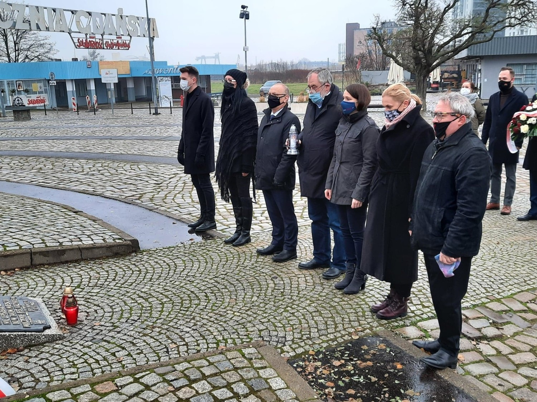 Pomorscy posłowie KO: Jerzy Borowczak, Piotr Adamowicz, Agnieszka Pomaska i Barbara Nowacka