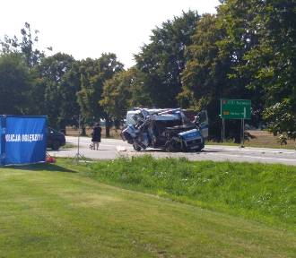 Wypadek w Nowej Dąbrowie. Jedna osoba nie żyje