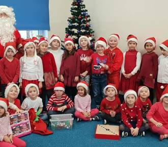 Miejskie Przedszkole nr 5 w Chodzieży: Święty Mikołaj odwiedził dzieci (FOTO)