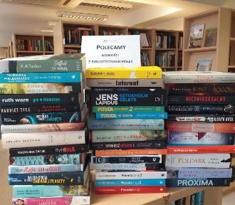Nowe książki w Miejskiej Bibliotece Publicznej w Wejherowie. Sprawdź jakie nowości trafiły na