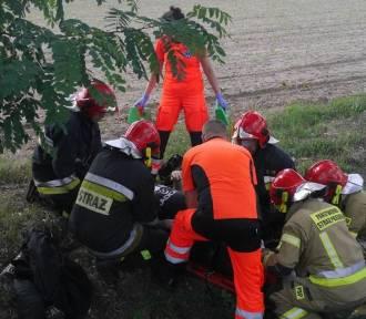 Stan najciężej rannego motocyklisty z wypadku w Miłosnej wciąż jest poważny. Jak przebiegała