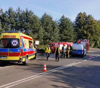 Poważny wypadek motocyklisty! 27-letni Ukrainiec jest w ciężkim stanie