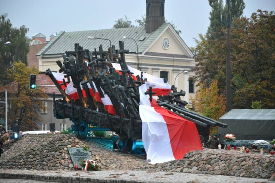 """Pomnik """"Poległym i Pomordowanym na Wschodzie"""""""