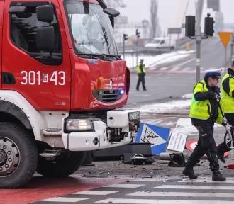 Spada liczba wypadków i rannych na pomorskich drogach