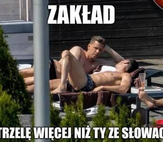 Polscy piłkarze w ogniu krytyki. Memy po porażce ze Słowacją