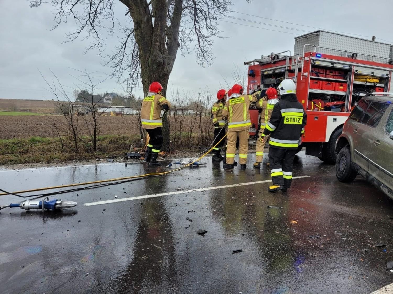 Do groźnego wypadku doszło na drodze 212 koło Chojnic