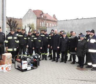 Sześć jednostek OSP z gminy Czempiń otrzymało nowy sprzęt