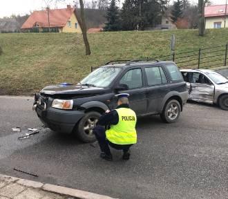 Poważny wypadek na Trakcie św. Wojciecha w Gdańsku [zdjęcia]