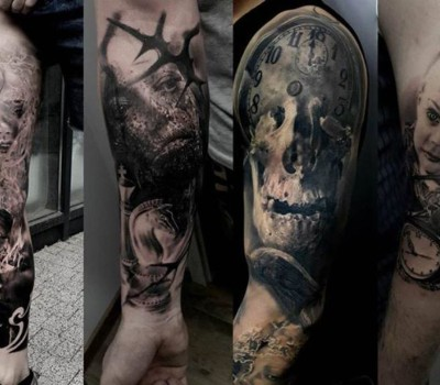 Nikson Guest Spot Dwa śledzie Studio Tatuażu Gdynia