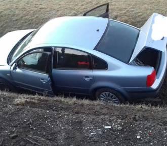 Groźnie wyglądający wypadek na A4. Auto dachowało (ZDJĘCIA)