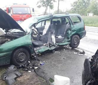Wypadek drogowy na DK 11 w Garbatce [ZDJĘCIA]