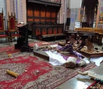 39-latek zniszczył ołtarz w dąbrowskim sanktuarium