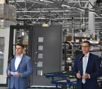Eko-Okna: premier Mateusz Morawiecki odwiedził największą firmę raciborszczyzny