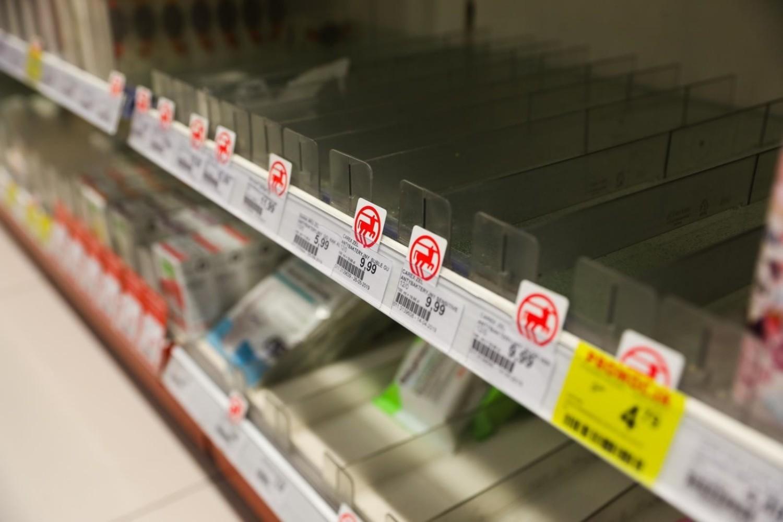 Drogerie w Polsce wprowadzają limity na zakupy