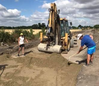 W gminie Krzywiń trwa budowa drogi z Mościszek do Dalewa ZDJĘCIA
