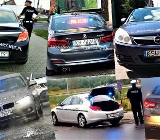 Nieoznakowane pojazdy małopolskiej policji [ZDJĘCIA, OPISY]