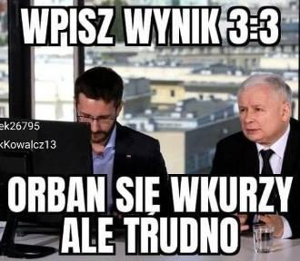 """NAJLEPSZE MEMY po remisie Polaków i debiucie Sousy. """"Orban się wkurzy, ale trudno"""""""