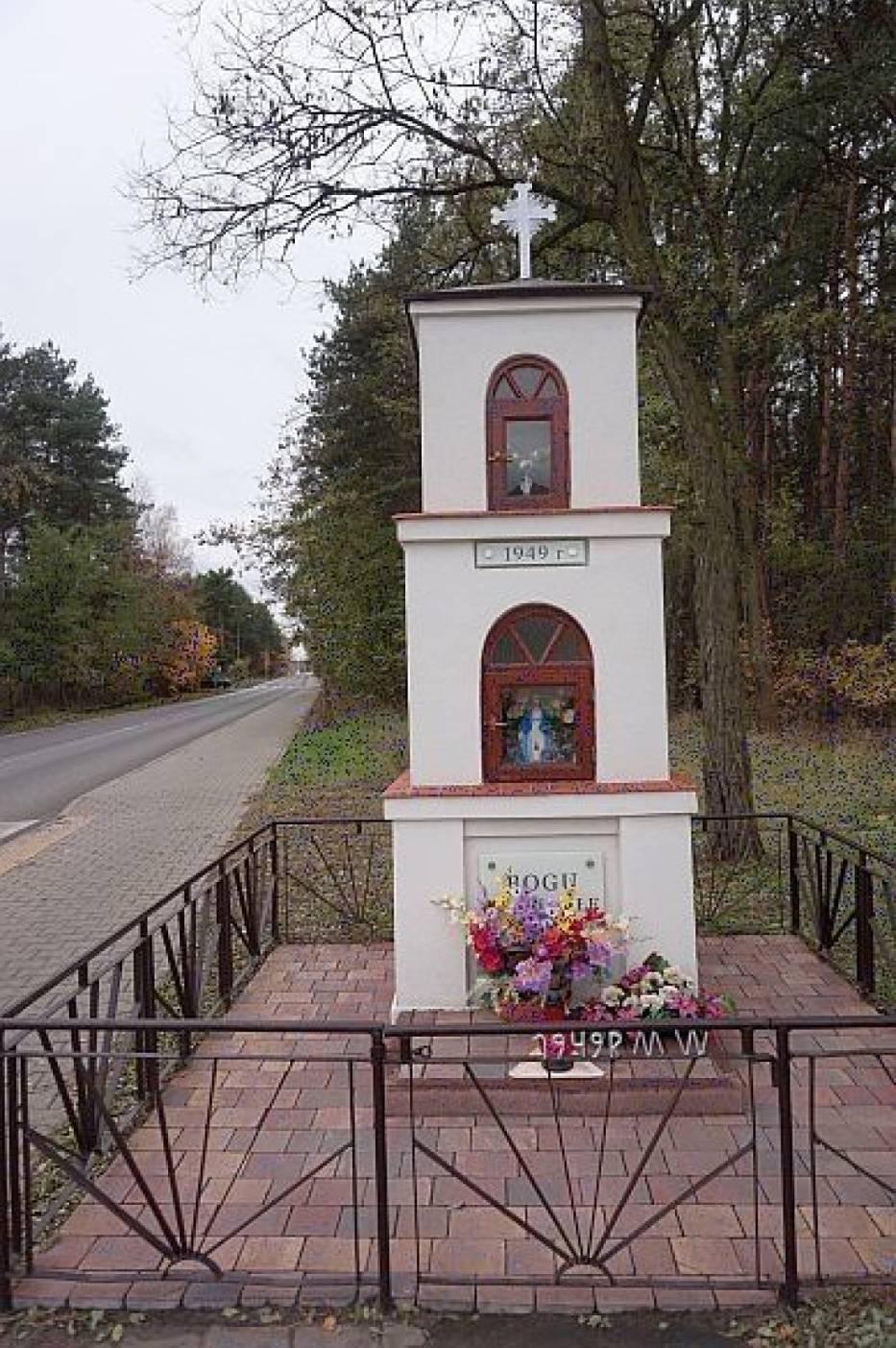 Kapliczka w 1949 rok