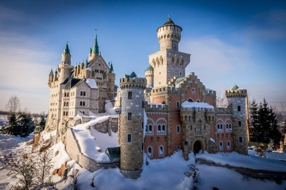 To największy park miniatur w Polsce