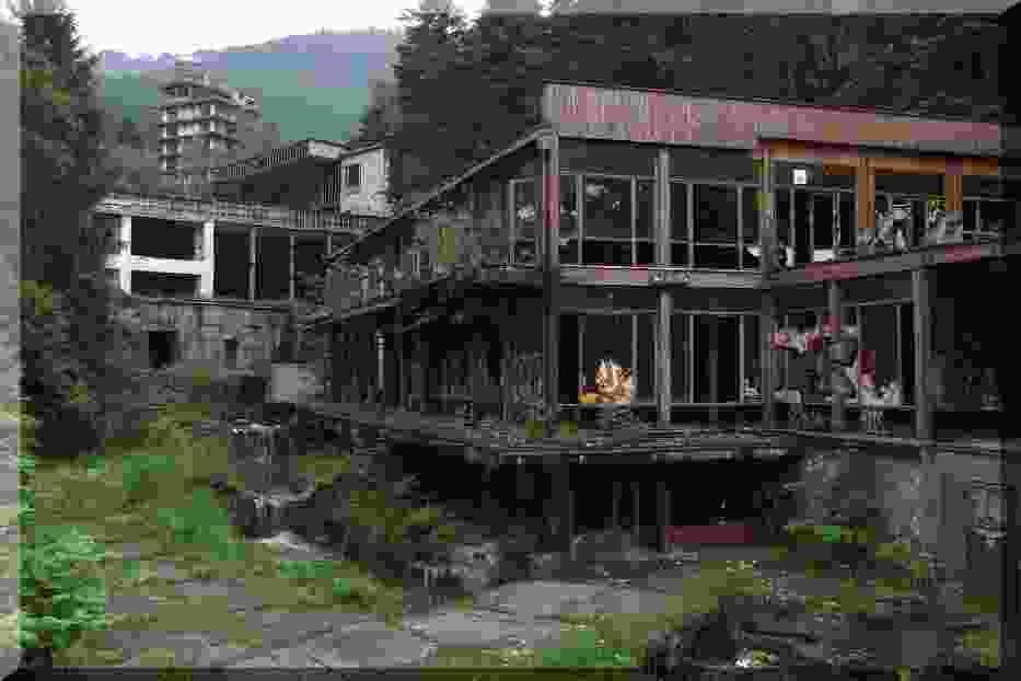 Kompleks hoteli w Kozubniku