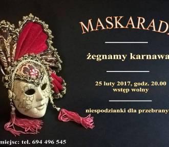 """Jazz Club Spiżarnia w Malborku zaprasza na """"Maskaradę"""""""