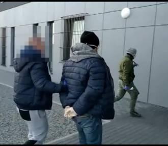 Policja w Kaliszu zatrzymała sprawcę fałszywych alarmów bombowych w szpitalach. WIDEO
