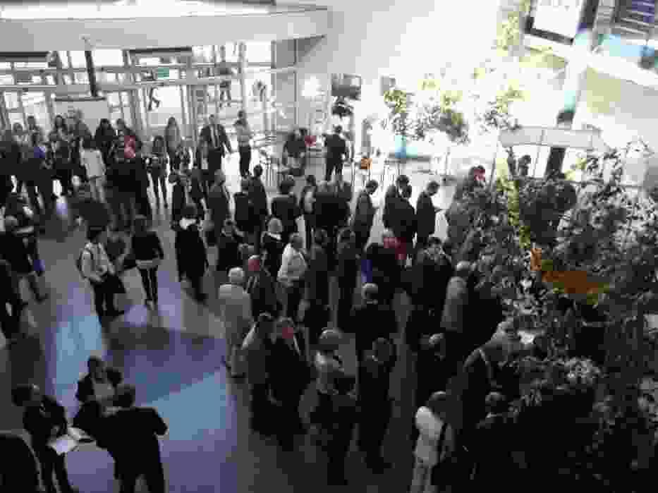 Tłumy podczas rejestracji na II Europejski Kongres MŚP