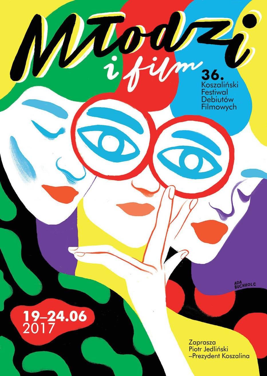 Plakat koszalińskiego festiwalu
