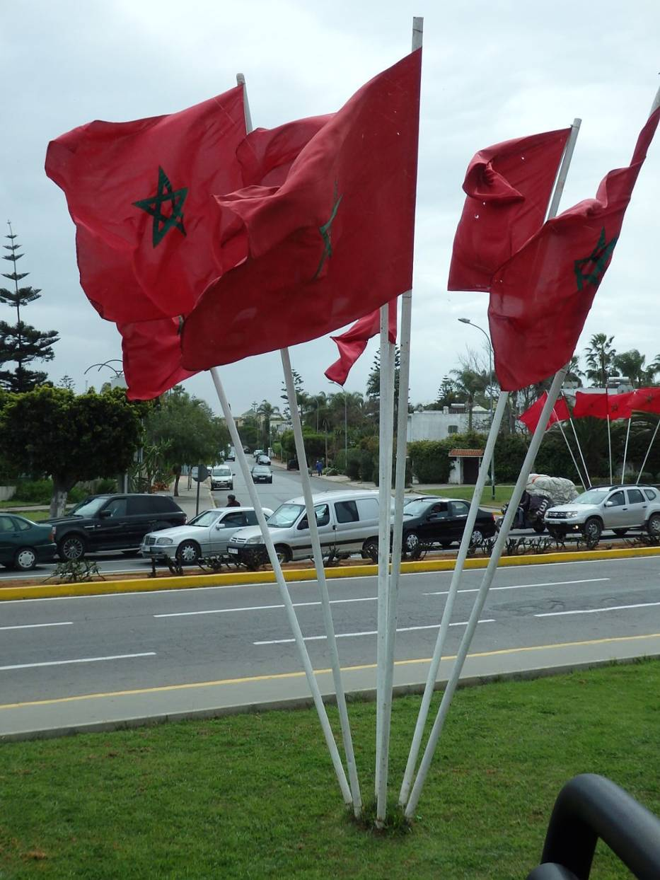 Rabat - jest stolicą Maroka od czasu uzyskania niepodległości  w roku 1956
