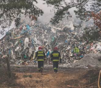 Pożar w Żorach: zobacz niesamowite ZDJĘCIA Bartosza Wernera