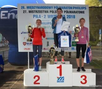 28. Międzynarodowy Półmaraton Philips w Pile. Paulina Kaczyńska ze Stargardu mistrzynią Polski