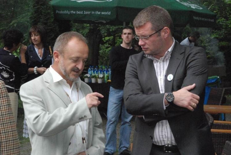 Marek Majewski oraz Marcin Meller