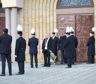 Głogów: Pogrzeb górnika, który zginął w ZG Rudna